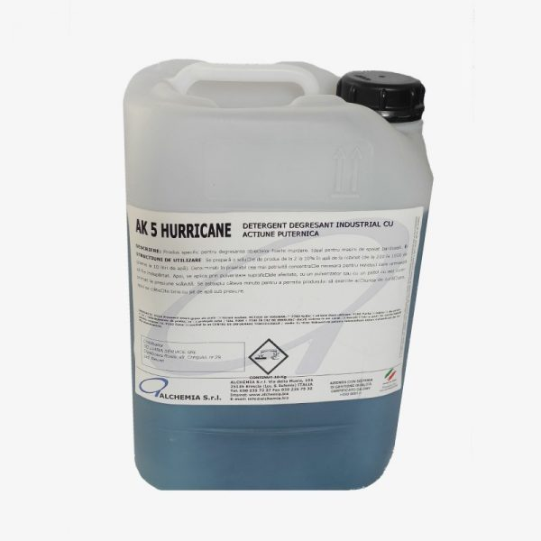 ak 5 hurricane – detergent degresant industrial
