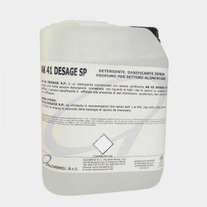 ak 41 desage - detergent industria alimentara